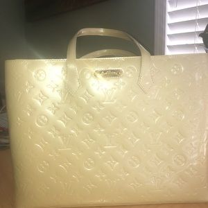 Louis Vuitton Wilshire Vernis Patent leather